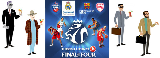 Final Four London 2013 Barça